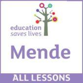 Order all Mende DVD Lessons