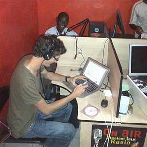 Recording DVDs, Nairobi (2014)