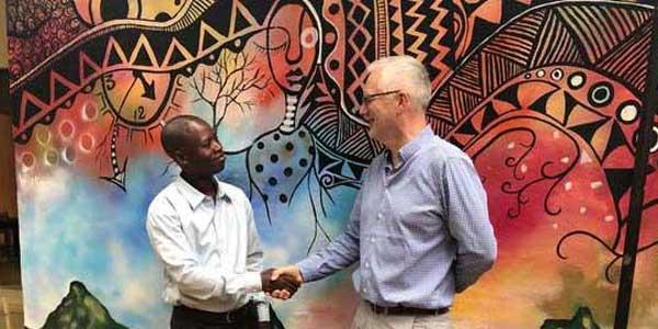 Jackson Kahalalo meets Clive Dove-Dixon