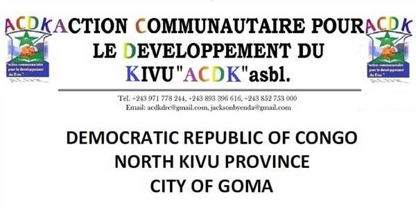 Action Communautaire pour le Developpement du Kivu (ACDK) asbl