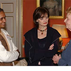 Cherie Blair and Sr Lizy