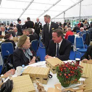Helen and David Cameron