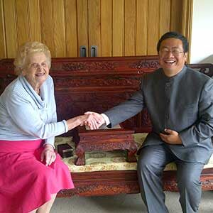Helen and Dr Ma Liang 2012