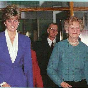 Princess Diana and Helen