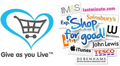 Give as you live -Shop for good online