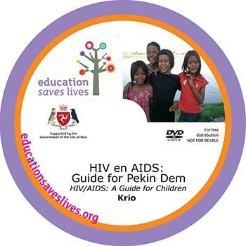 Krio HIV AIDS A Guide for Children DVD