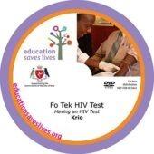 Krio Having an HIV Test DVD
