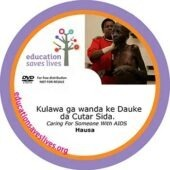 Hausa: Caring For Someone with AIDS DVD