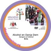 Krio Dangers of Alcohol DVD lesson
